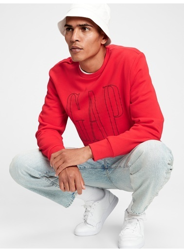 Gap Sweatshirt Kırmızı